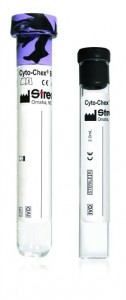 The Streck Cyto-Chex BCT is a direct-draw blood-collection tube for the preservation of whole blood specimens for immunophentyping by flow cytometry.
