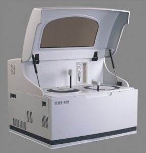 The BS200 chemistry analyzer from Mindray North America offers a menu of 60 assays.