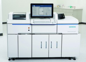 The Advia Chemistry XPT system is the newest chemistry solution from Siemens Healthcare Diagnostics.