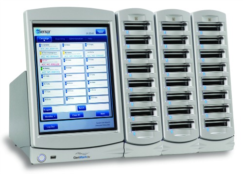 The GenMark Diagnostics eSensor XT-8 is the instrument platform for the company's multiplex respiratory viral panel, which includes respiratory syncytial virus A and B.