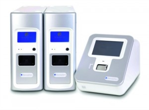 The Verigene system by Nanosphere detects infectious pathogens and drug resistance markers.