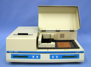 The Spife system by Helena Laboratories can determine the cholesterol content of HDL, LDL, VLDL, and Lp(a).