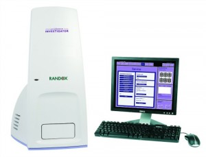 The Evidence Investigator by Randox Laboratories is the world's first platform allowing consolidation of immunoassay, molecular protein, and DNA-based biochips.